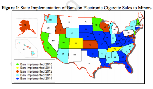 Electronic Cigarette Access And Adolescent Smoking | American