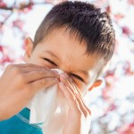 childhood allergies via shutterstock