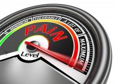 Pain level meter via Shutterstock