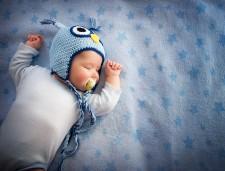 baby sleeping via shutterstock