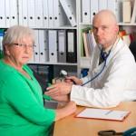 older female patient via shuterstock