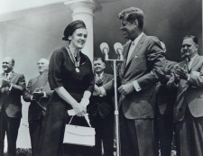 Dr. Kelsey and JFK