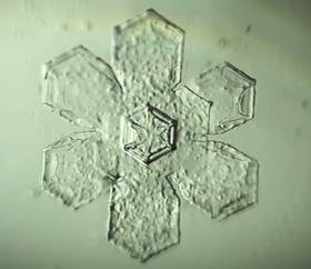 crystallography snowflake