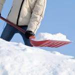 Snow Shoveling via Shutterstock