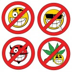 Cannabis and faces / Shutterstock