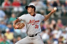 Baseball pitcher via Shutterstock