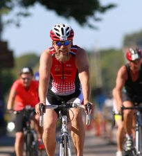 Triathlon cyclist via Shutterstock