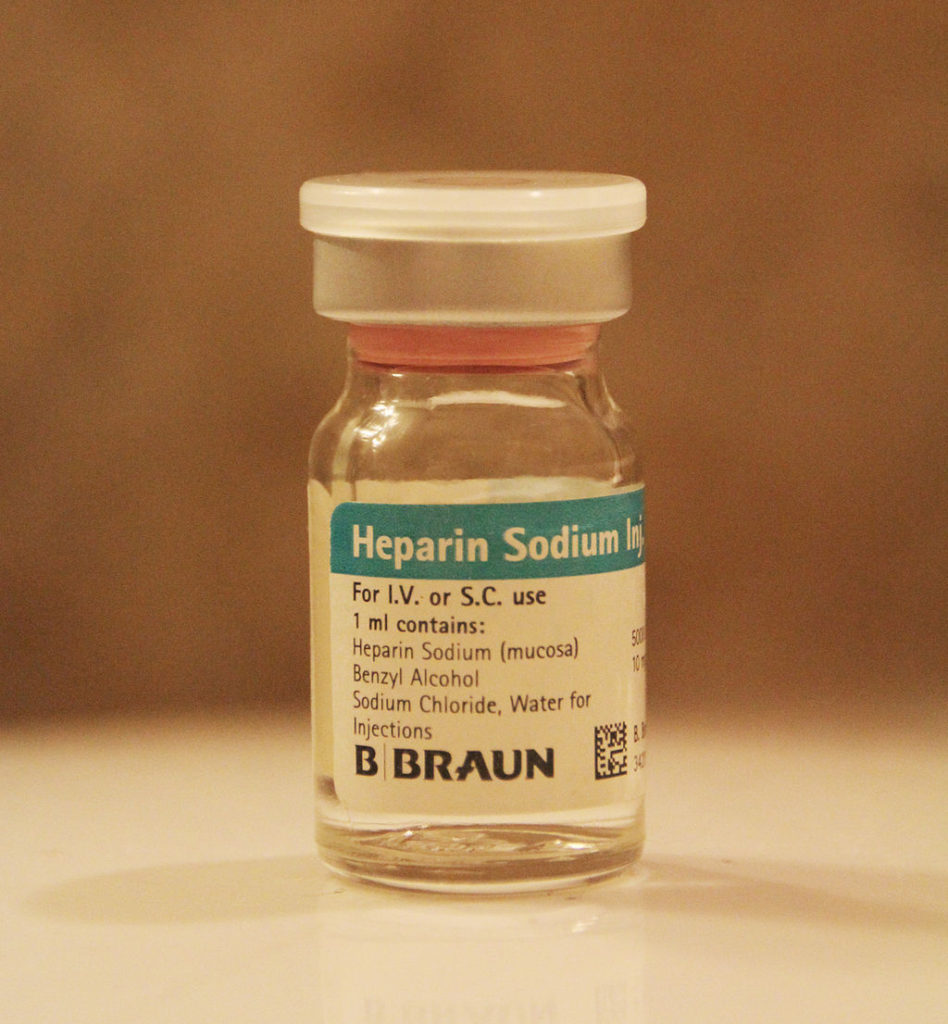 Heparin. (Credit: LHcheM/Wikipedia)