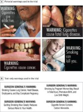 Pictorial warning labels courtesy of JAMA