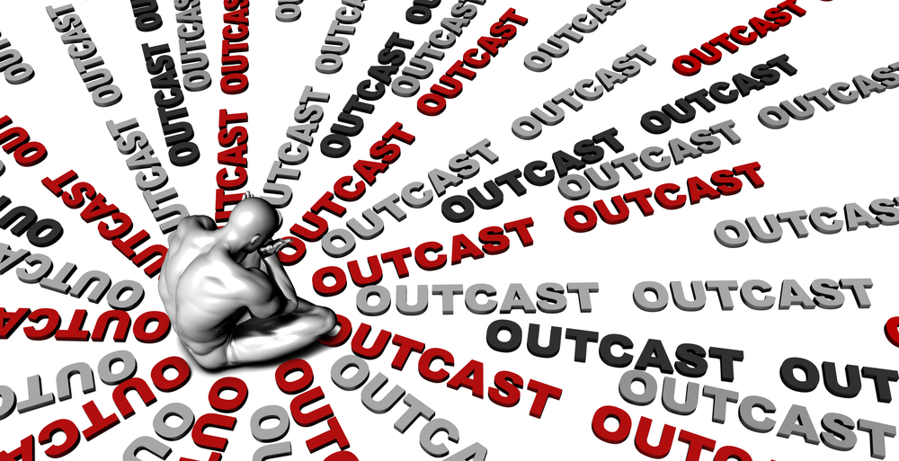 Outcasts. (Credit: Shutterstock)