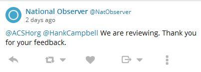 National Observer twitter